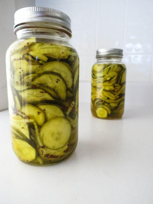 Pickled Zucchini! | Lunch | Pinterest