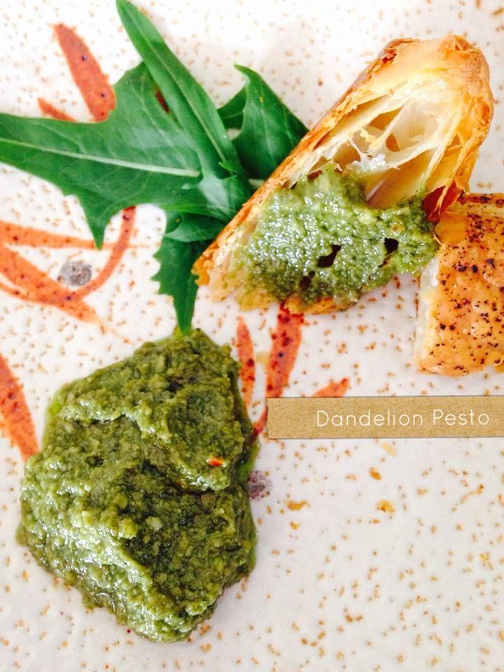 ... dandelion pesto step2 680x324 jpg la en pesto dandelion pesto recipe