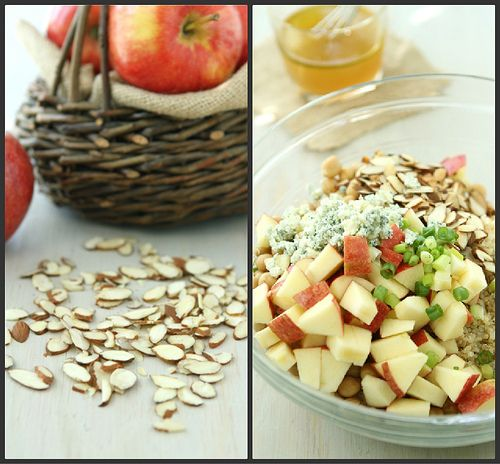 Quinoa Salad With Toasted Almonds Recipes — Dishmaps