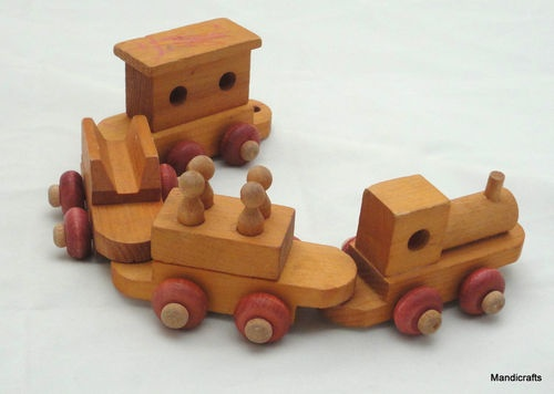 Wooden toy train canada water