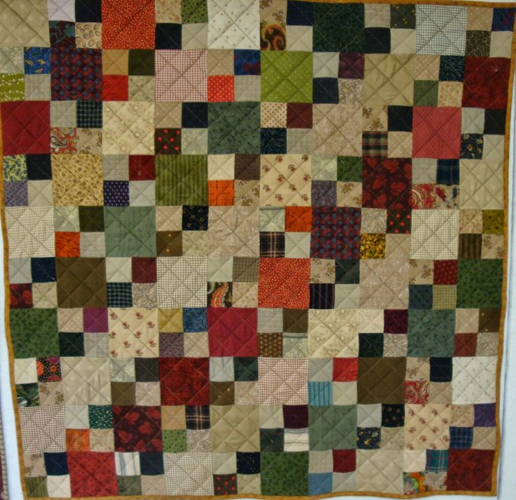 Heather Stewart Quilts Double 4 Patch 9 Patch 4 Patch