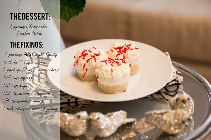 Eggnog Cheesecake Cookie Bites. Get the original recipe by Grandbaby ...