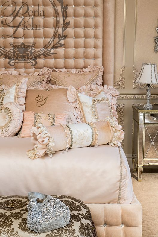 Dreamy guest bedrooms pinterest for Bedroom ideas rose gold