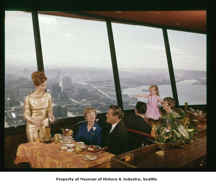 Space Needle Restaurant, Museum of History & Industry