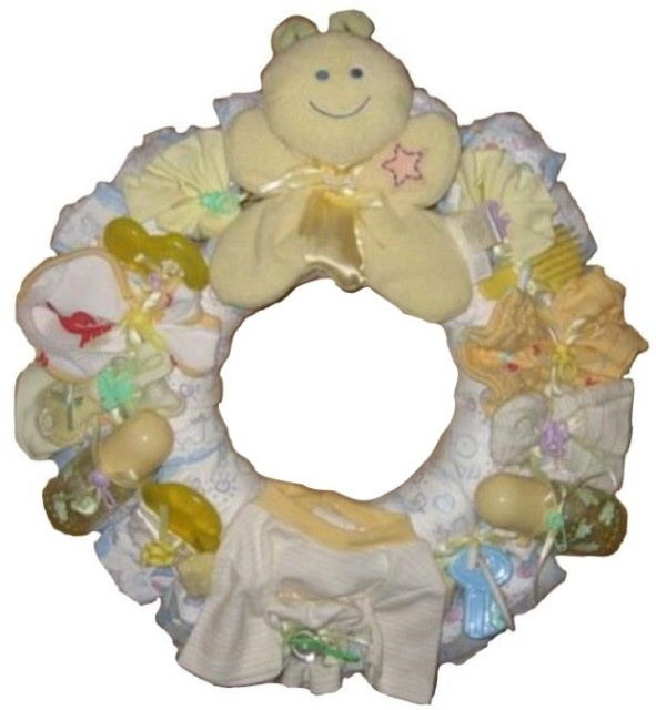 baby shower wreath wreaths for every occasion pinterest