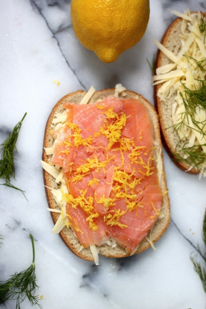 Smoked Salmon & Gruyere Grilled Cheese | Grilled Cheese is For Lovers ...