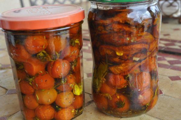 Tomates cerises bocaux - Faire pousser tomate cerise ...