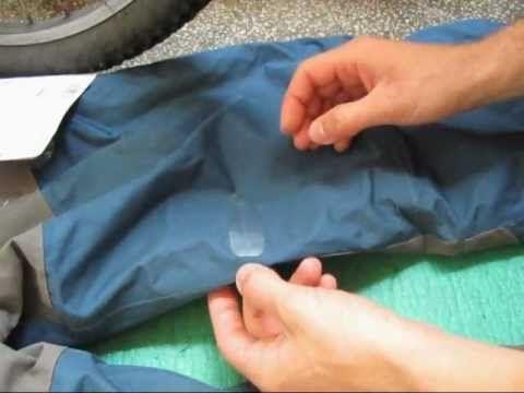 How to repair waterproof jacket