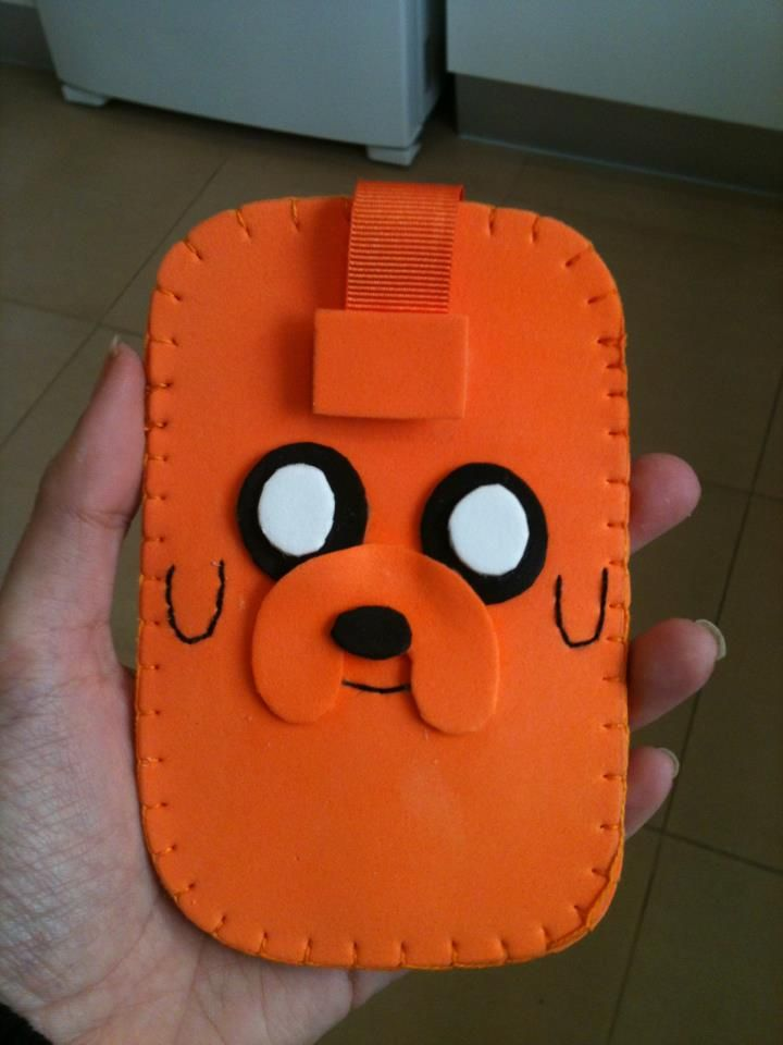 Jake the Dog mobile case by anapeig.deviantart.com