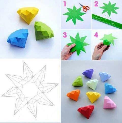 Cool Easy Origami Diamond