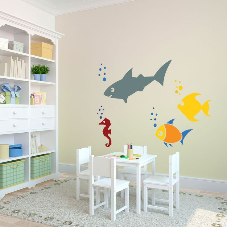 Whimsical Sealife Wall Art 49