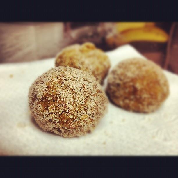 baked pumpkin donut holes | Peter Peter Pumpkin Eater | Pinterest