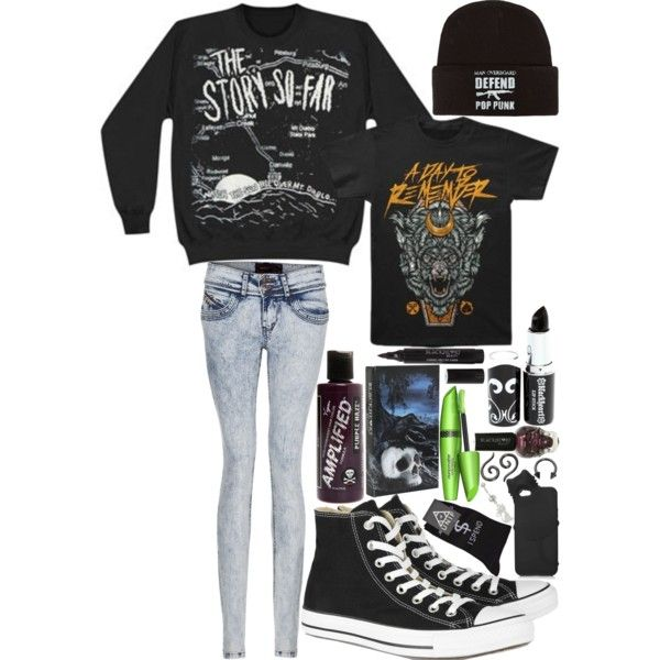 That's like a Pop-Punk super wardrobe right there