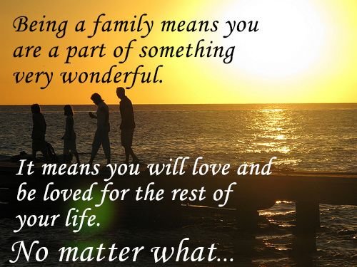 what family means to me What family means to me caroline behne from germany caroline behne writes about how important her family is to her.