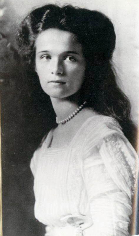 1910 - Her Imperial Highness Grand Duchess Olga Nikolaevna. Daughter of Nicholas II & Alexandra. Lived 1895-1918. Murdered by the Bolsheviks.