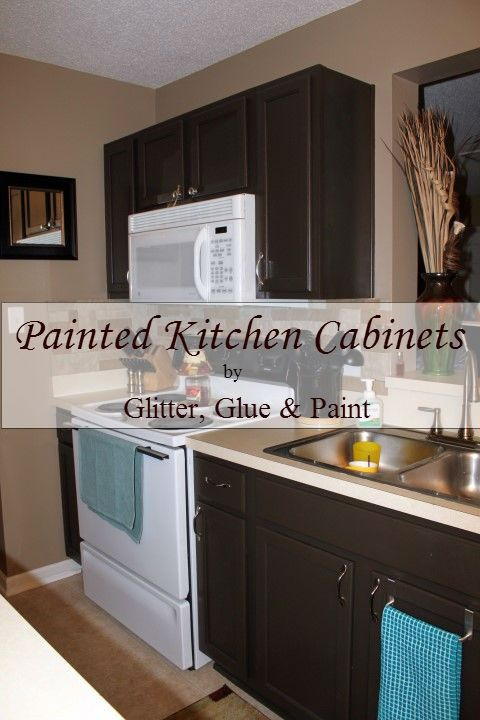 Painted Kitchen Cabinets Great How To For Someone Who Has Never