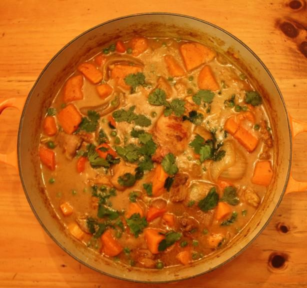 ... coconut curry chicken 10 best chicken curry with potatoes and peas