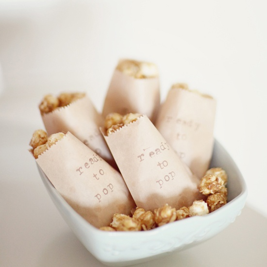 cute idea for a baby shower #popcorn