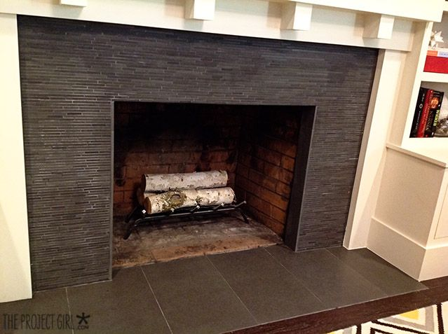 Fireplace Surround Black Tile Fireplace Ideas Pinterest