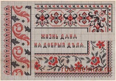 Русская вышивка значение орнаментов
