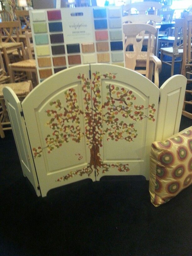 Wooden Fireplace Screen Side Business Pinterest