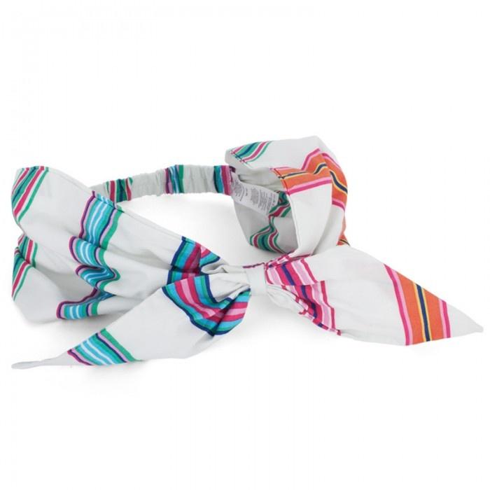 Joules Stripe Bow Hairband | Hairbands | Pinterest