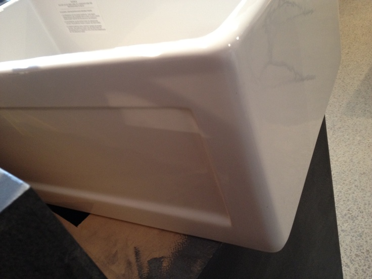 Back of double sided sink My new kitchen Pinterest