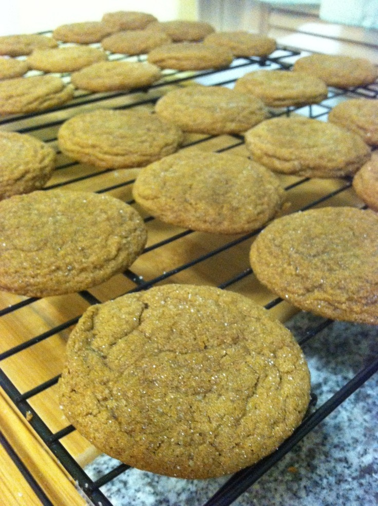 Molasses Cookies dipped in Chocolate Recipe on the blog www.LuvandIDo ...
