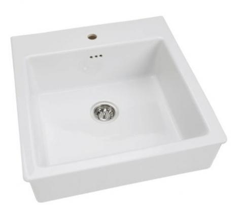 DOMSJ? single apron-front sink