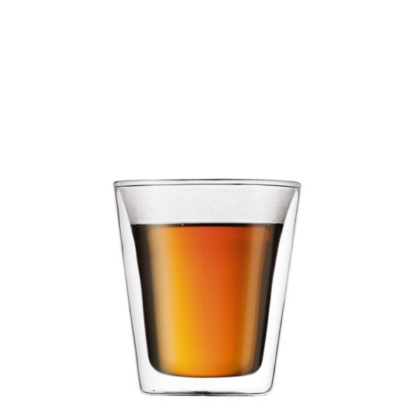 Bodum CANTEEN Szklanki Termiczne 0,2 l do Herbaty