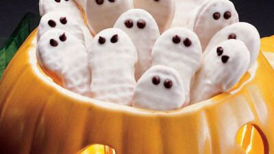 Ghost Cookies - Halloween Recipe from Pillsbury