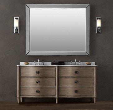 bathroom vanities and sink consoles restoration hardware