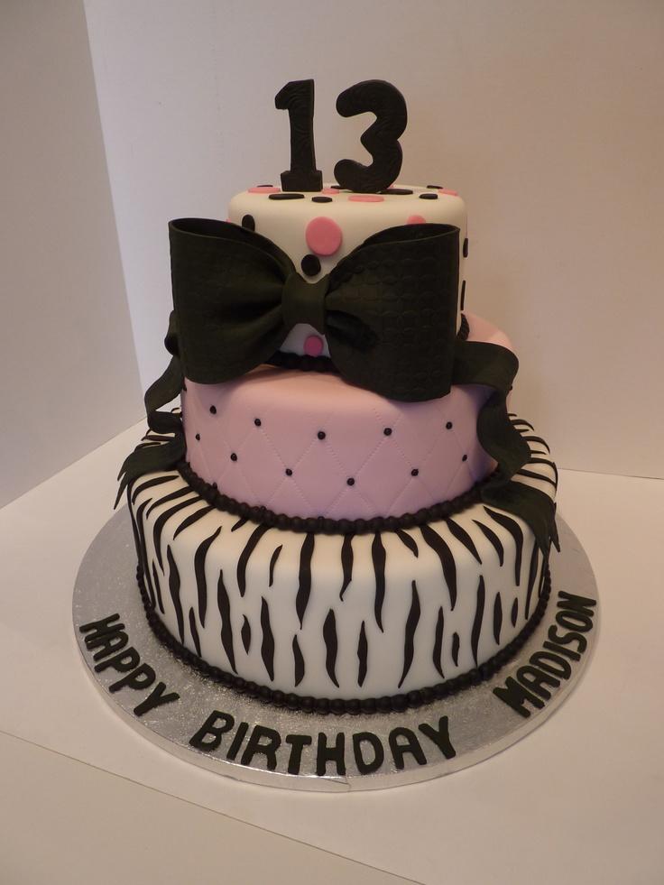Happy 13th Birthday Cake Ideas 35369 Happy 13th Birthday C