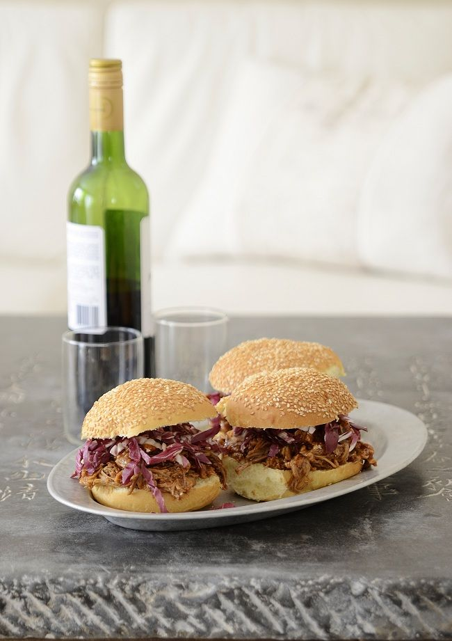 """In My Mother's Kitchen"""" and Southern Pulled Pork Sandwiches ..."""
