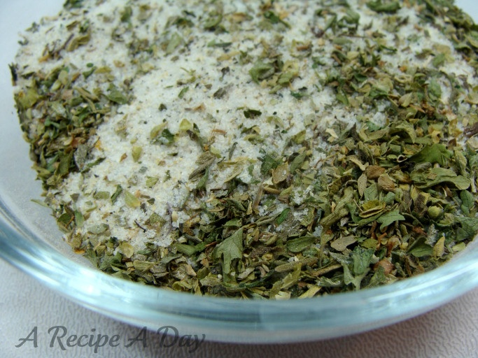 Homemade italian-dressing-mix