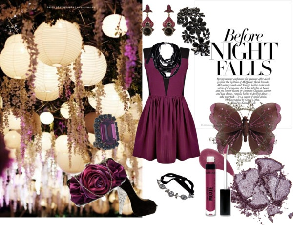 Night falls, created by charmed-222 on Polyvore