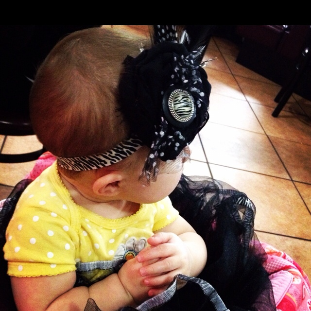 From Sophia's headband collection