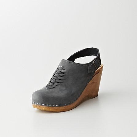No. 6 Woven Slingback Wedge | Womens Shoes | Steven Alan