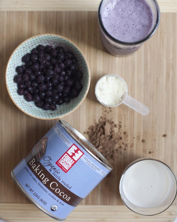 Berry Power Protein Shake | Protein shakes | Pinterest