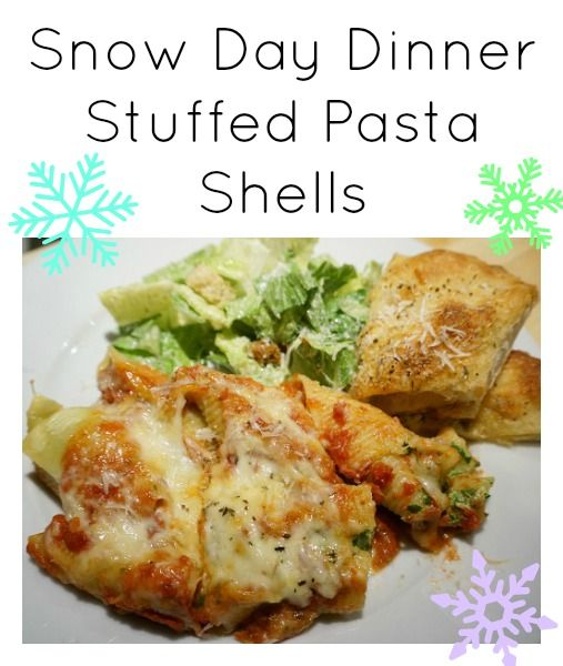 delicious recipe for Stuffed Pasta Shells with ricotta and spinach ...