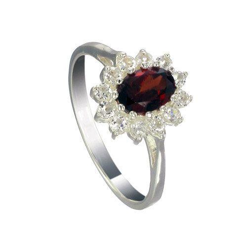Natural Gemstone Women Wedding Ring