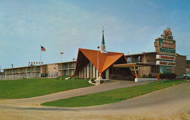 Howard Johnson 39 S Motor Lodge Wisconsin Retro Places