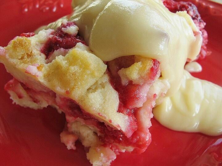 Raspberry bread pudding | Fantastic Food | Pinterest