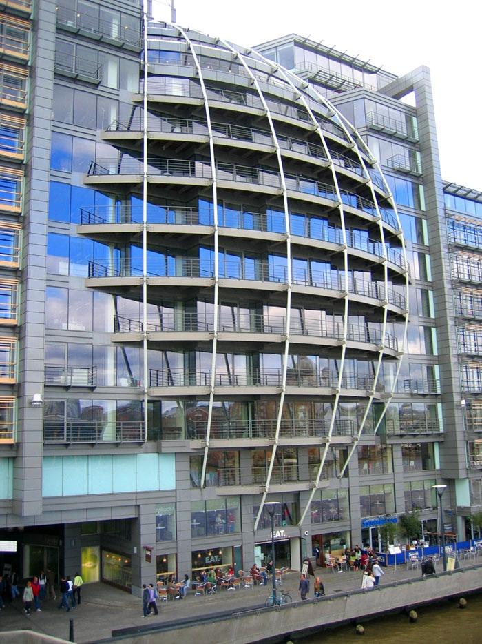Riverside house bankside london uk architecture for Modern architecture house london