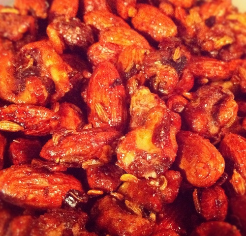 ... almonds amp walnuts with fennel red pepper flakes honey amp sea salt