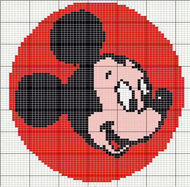 Knitting graphs for Disney