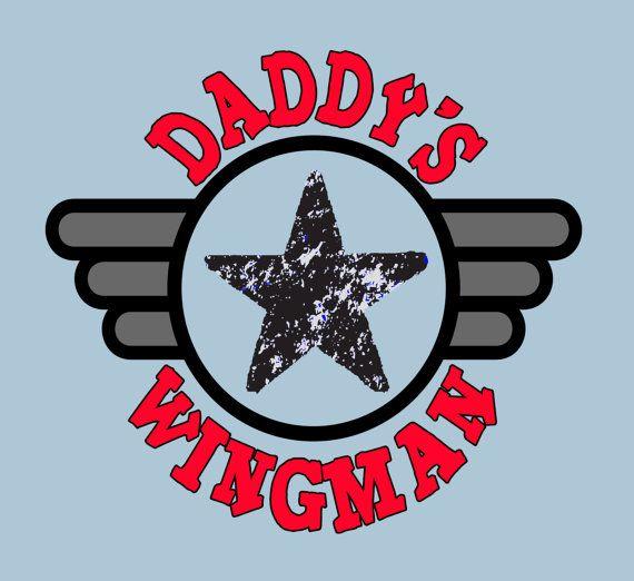 Daddys Wingman Little Boys Shirt Newborn Pilot by FunhouseTshirts, $13 ...