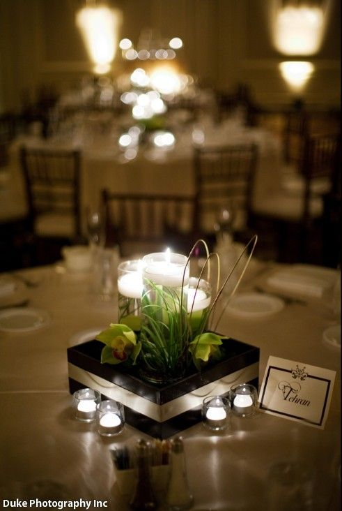 elegant candle centerpiece going to the chapel pinterest