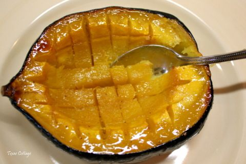 This Baked Acorn Squash recipe from @Texas Cottage is delicious and ...