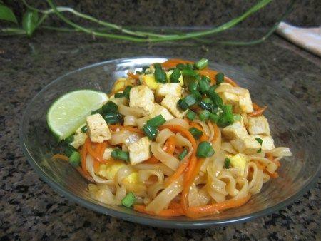 Everyday Food's Vegetable and Tofu Pad Thai